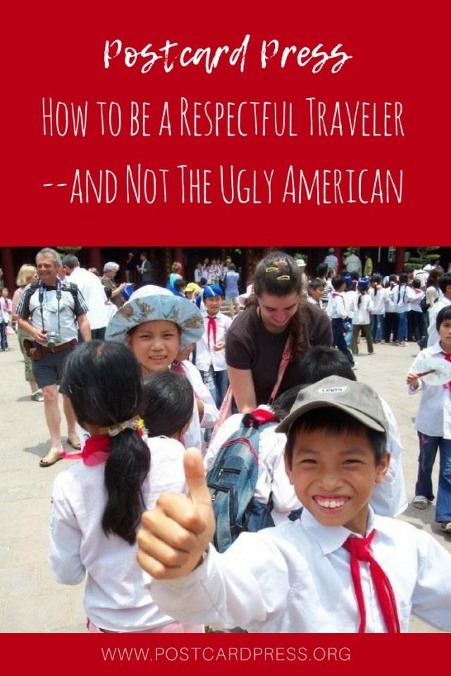 Pinterest Image with Vietnamese School Children