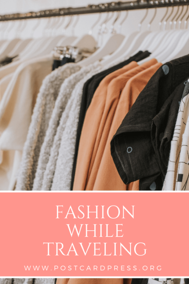 Packing for your next trip? Check out this article about acceptable fashion while traveling, and why what you wear abroad matters. #fashion #travel #wanderlust #postcardpress
