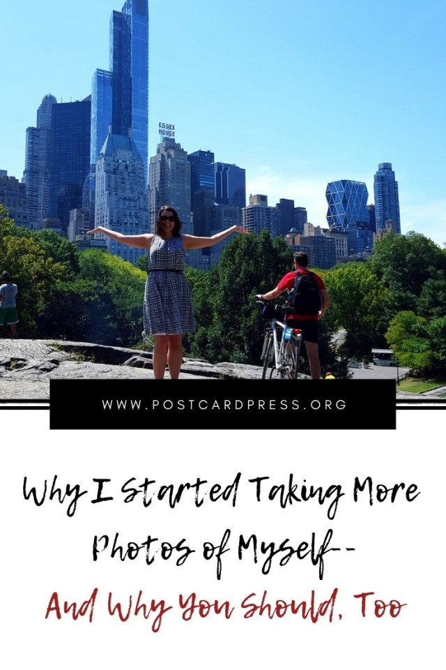 Pinterest Image - Nicole in Central Park - New York City, NY