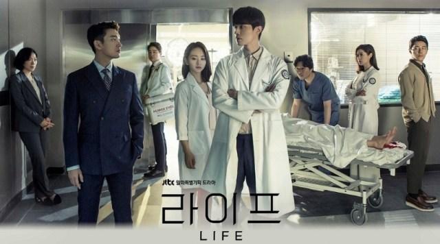 Poster for the JTBC K-drama LIFE