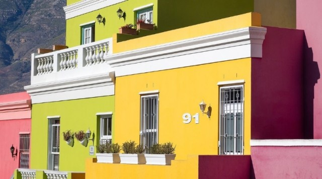 Bo-kaap Homes in Cape Town