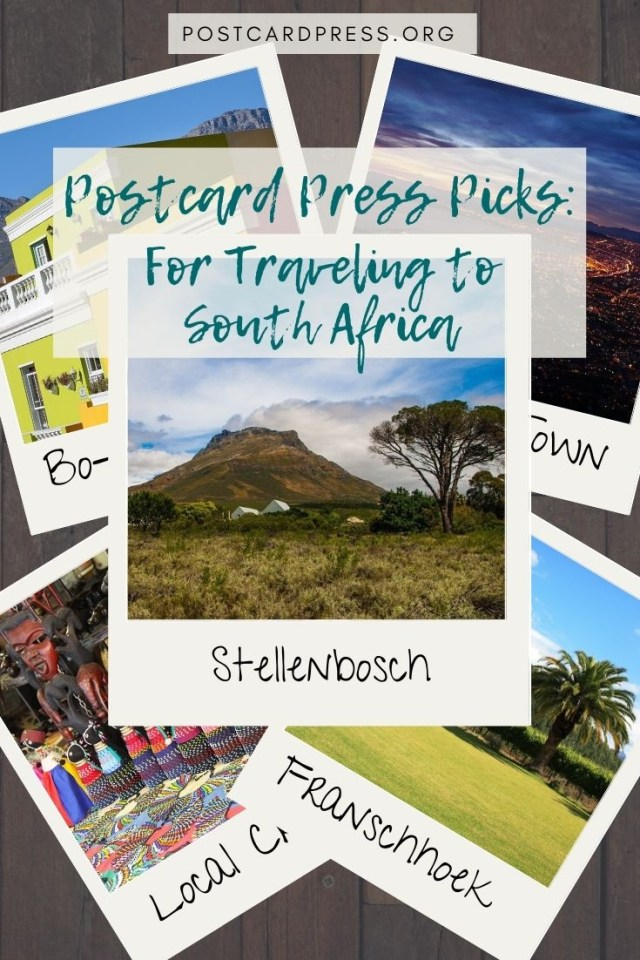 Postcard Press Picks: For Traveling to South Africa Pinterest Image