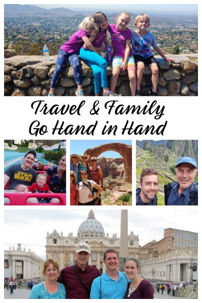 travel and family pin