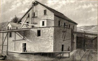 Los Gatos flour mill