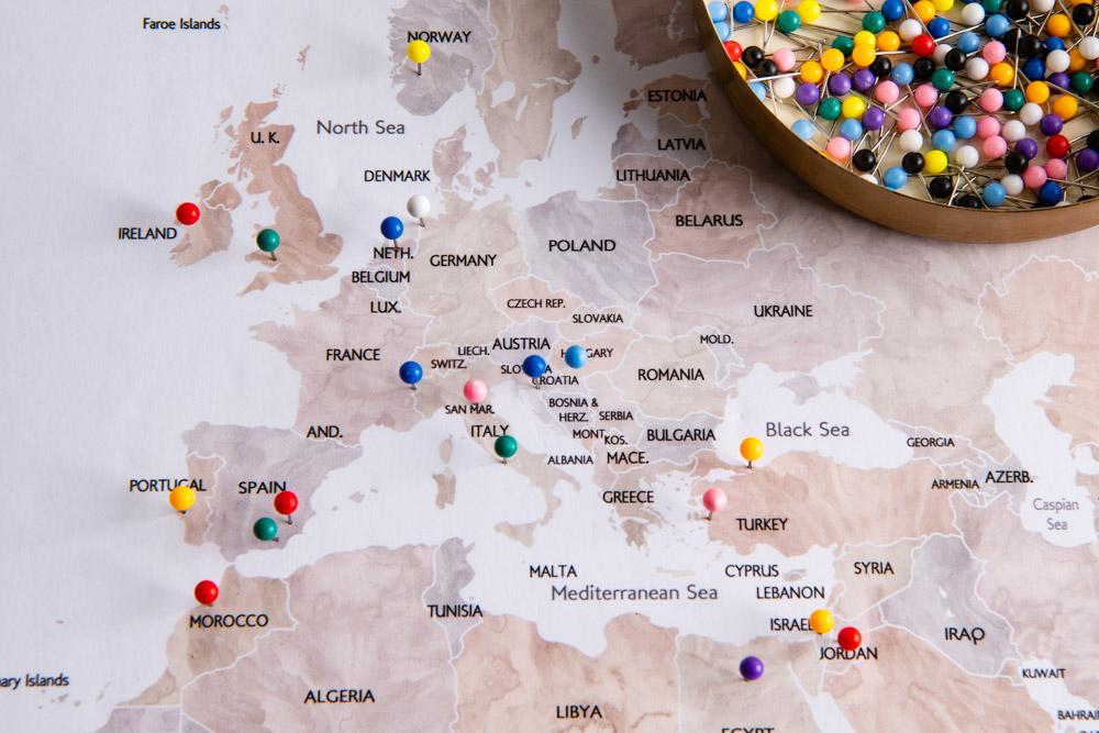CR-push-pin-map-styled-1 (2) - Postcards & Passports  Pushpin Map