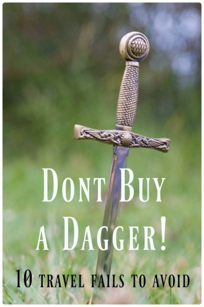 don't buy a dagger