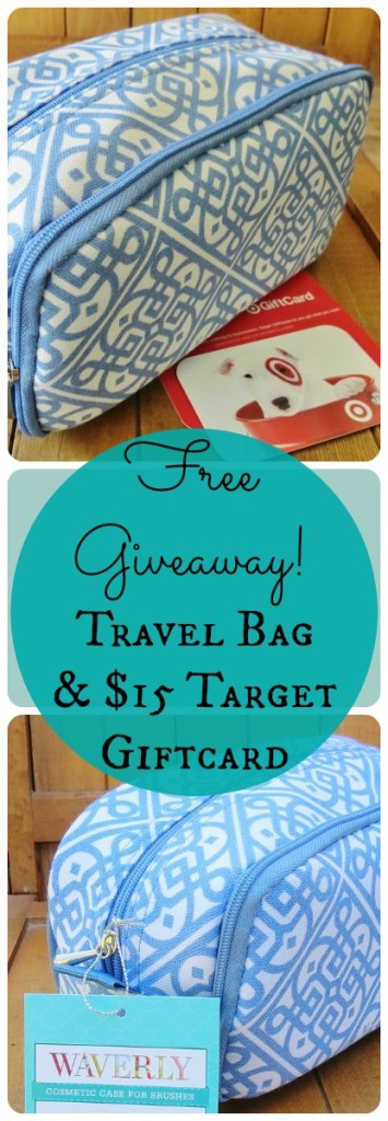 Travel Bag + $15 Target Giftcard (Giveaway!)