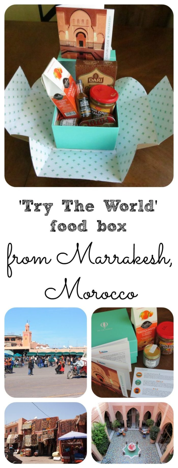 Try The World Moroccan Food Box