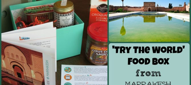 'Try The World' Moroccan Food Box