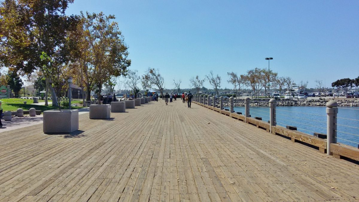 Doing the San Diego Harbor: an Easy Walking Route