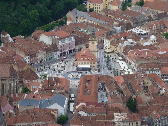 City of Brasov in Transylvania, Romania, credit: Zoltan Suga