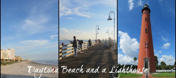 Daytona Beach…and a Lighthouse