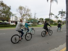 Coronado is a great place to ride bicycles!
