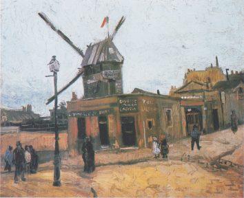 Moulins de la Gallette by Van Gogh