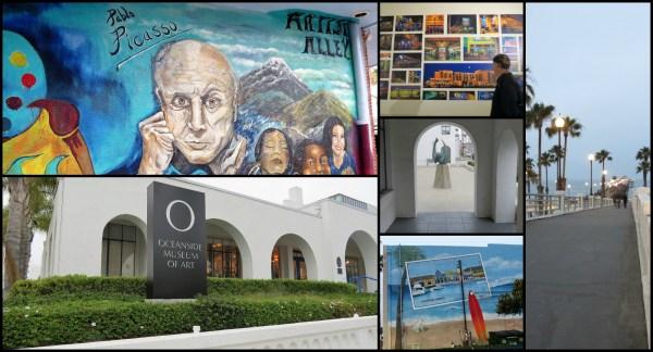 Oceanside' Friday Art Walk - Postcards & Passports
