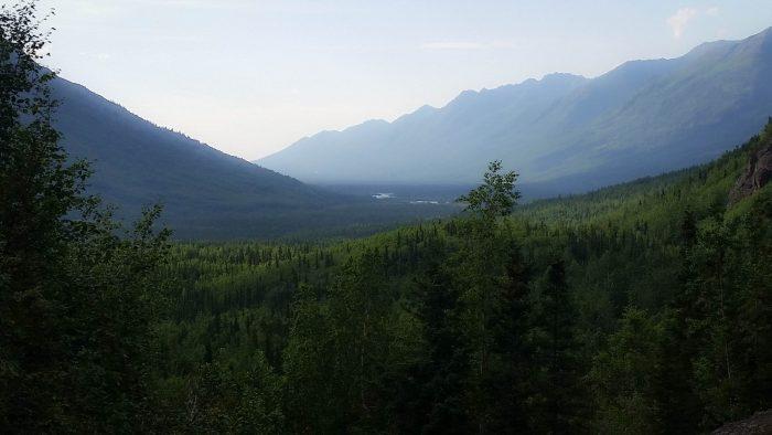 north of Anchorage