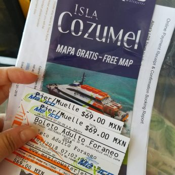 Cozumel ferry tickets