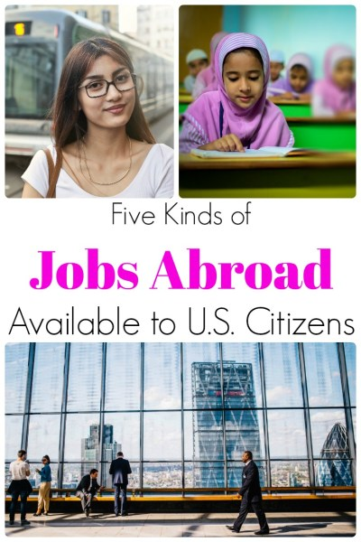 jobs abroad