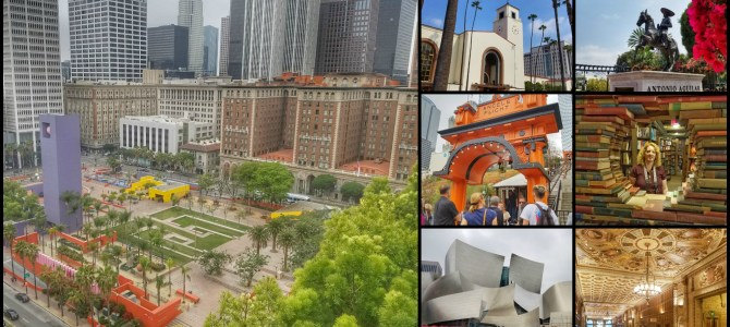 A Walking Tour of Downtown Los Angeles