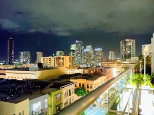 San Diego's rooftops