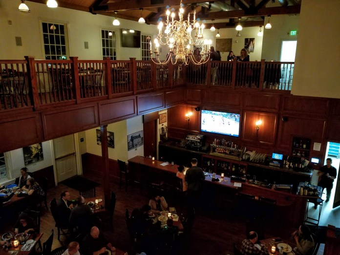 Interior of Green Dragon Tavern