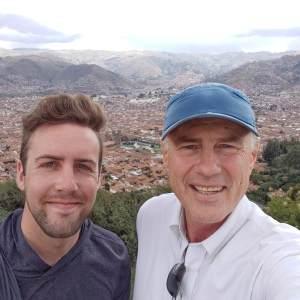 Cusco selfie