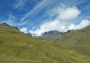 Andes glacier