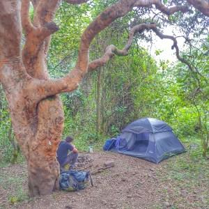 Camping along Lares Trek