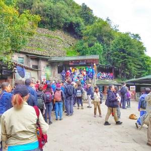 Entry to Machu Picchu