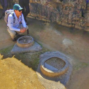 Machu Picchu reflective pools