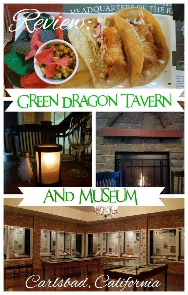 pin for Green Dragon Tavern post