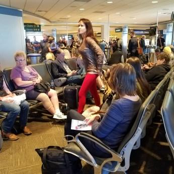 waiting at gate
