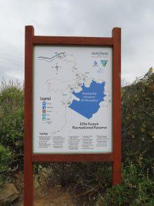 map of Escondido hikes