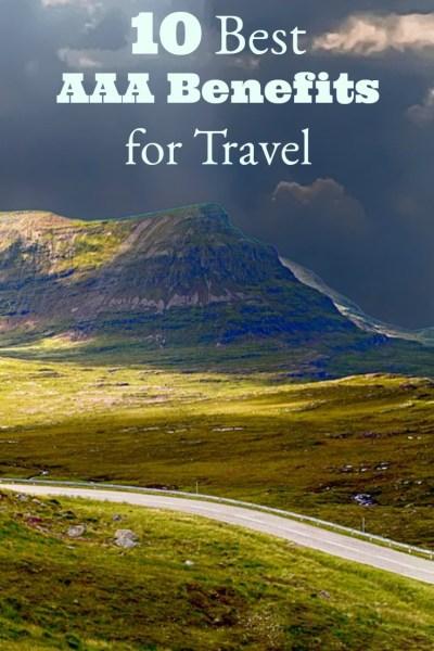 10 Best AAA Benefits for Travel - Postcards & Passports