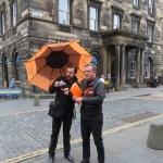 tour guides, take a tour of Edinburgh