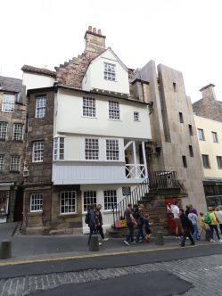 Take a tour of Edinburgh, John Knox home