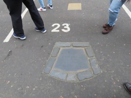 Burial site of John Knox