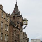 Canongate Tolbooth clock