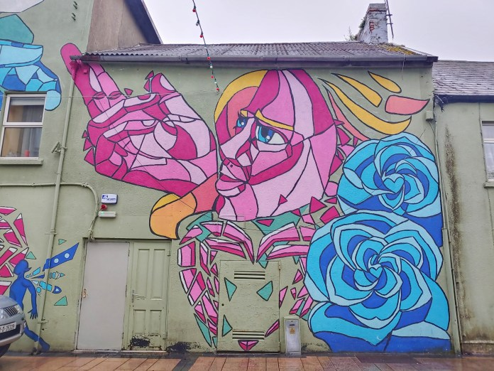Rose of Tralee mural