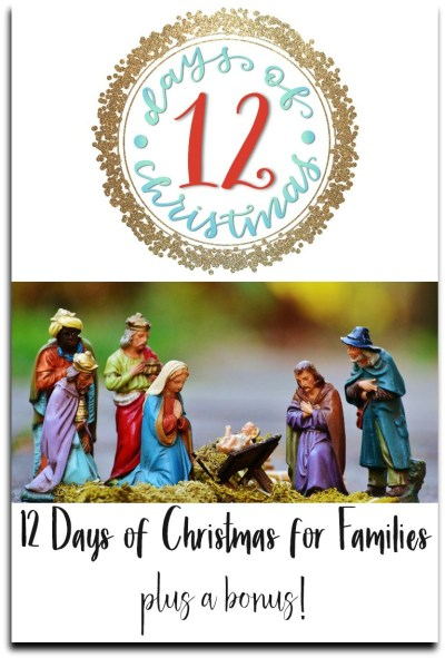 12 days of Christmas for families