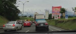 traffic in Costa Rica