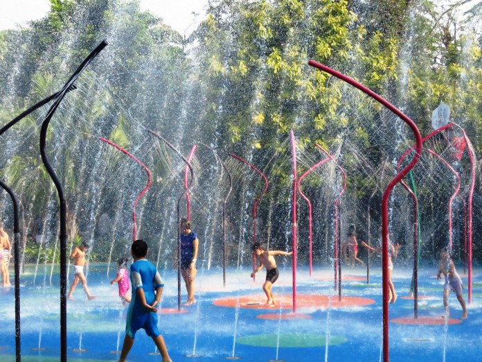 Singapore splash pad