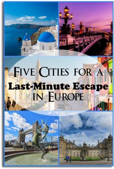 Last-minute escape