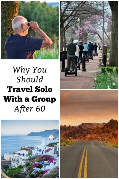 travel solo with a group