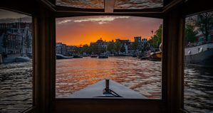 private boat tour in Amsterdam