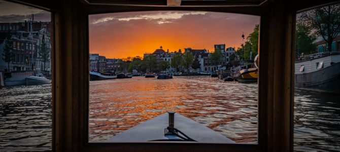 Taking a Private Boat Tour in Amsterdam