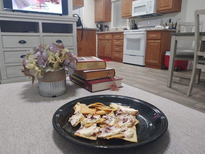 TV watching snacks