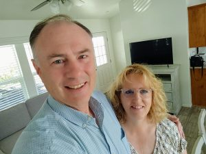author and husband