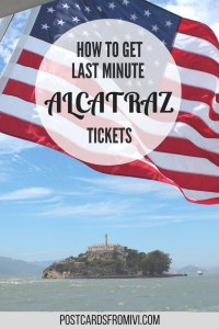 last minute Alcatraz tickets