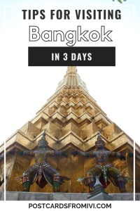 Things to do in Bangkok in 3 days and tips to plan your trip